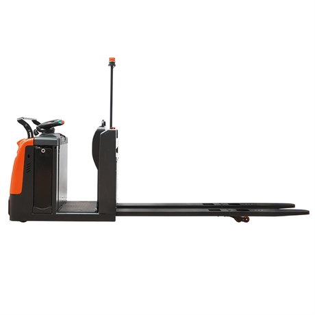 Low-level order picker with 2500kg load capacity