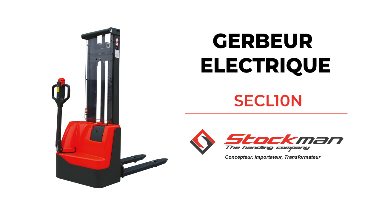 The SECL10N electric stacker