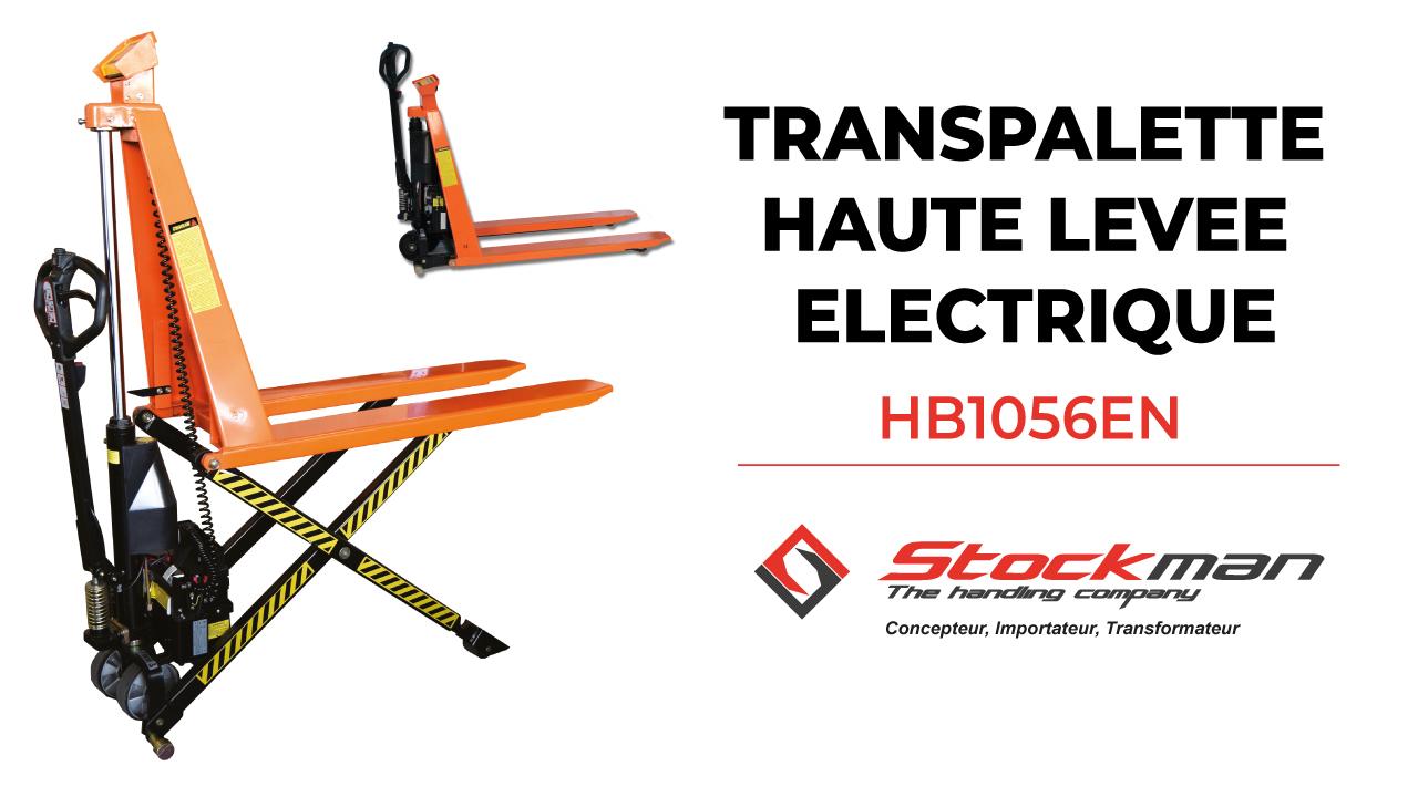 The HB1056EN electric scissor lifht pallet truck