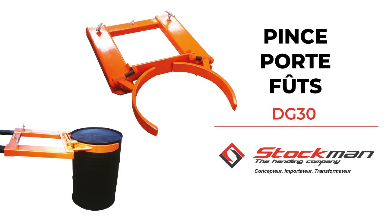 The DG30 drum clamp
