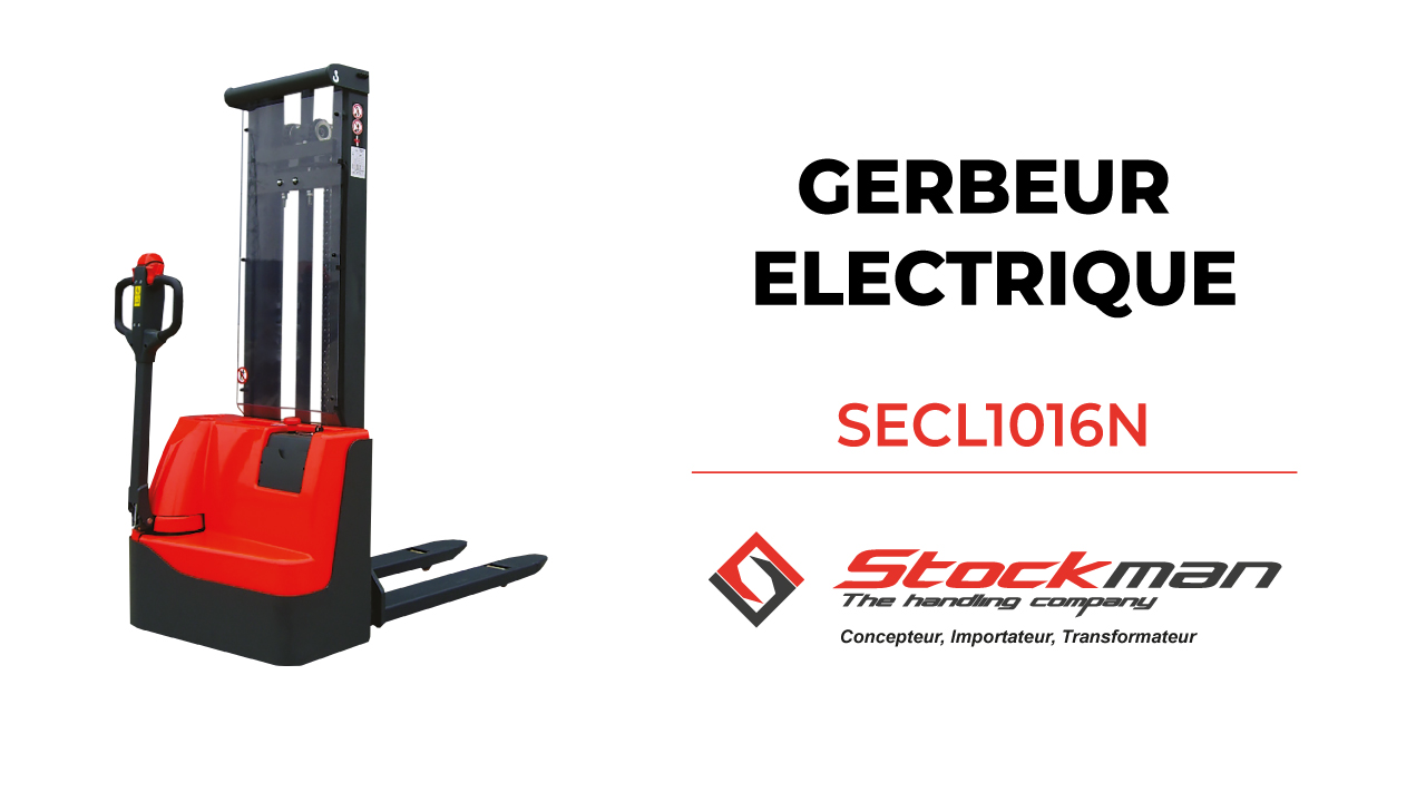 The SECL1016N electric stacker