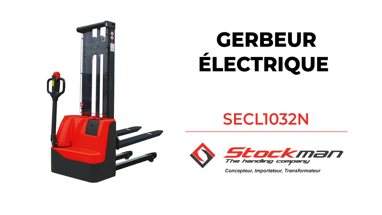 The SECL1032N electric stacker