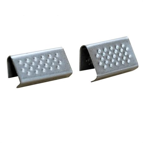 Chapes ouvertes pour feuillard PP et PET 16 mm