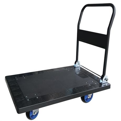 Chariot plastique avec dossier rabattable 300 et 500 kg