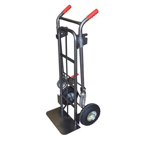 Diable / chariot acier 2 en 1 250 / 350 kg