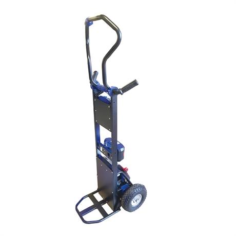 Diable monte-escaliers électrique acier à bras rotatif 130kg