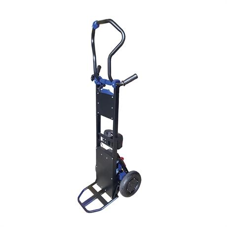 Diable monte-escaliers électrique acier à bras rotatif et déplacement motorisé 130kg