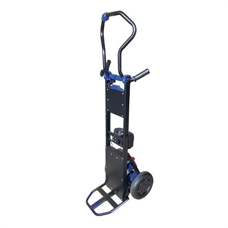 DONKEYLIGHTXX - Diable monte-escaliers électrique acier à bras rotatif et déplacement motorisé 130kg