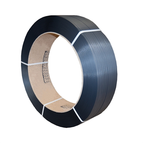 FPP5 - Feuillard polypropylène PP 12x0,8 mm resistance 145 kg NOIR - par 1 bobine