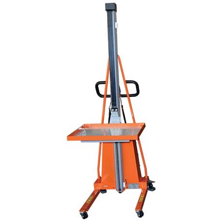 Gerbeur semi-électrique positionneur de travail 100 à 250 kg