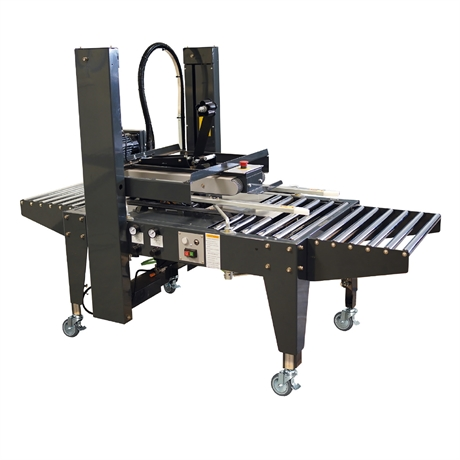 Machine à poser l'adhésif multi-format