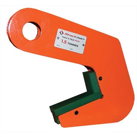 Pince à prise horizontale pour tube acier ou béton 1500 et 3000 kg