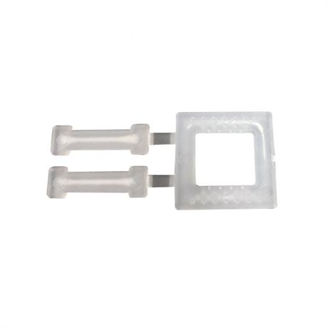 Boucles plastique 13 mm, par carton de 1000 boucles