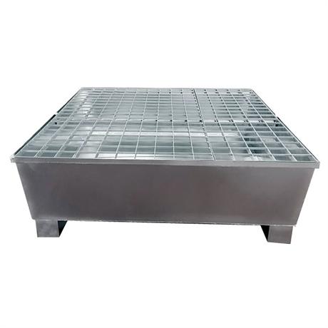 Bac de rétention acier galvanisé 950 à 1400 kg