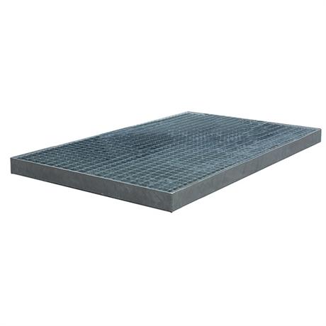 Plancher de rétention galvanisé 1000 à 2000 kg