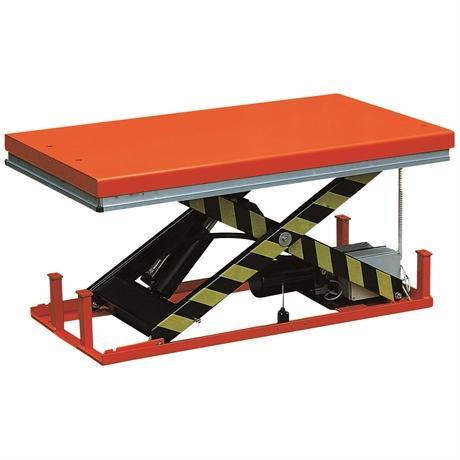 HW1002/380V - Table élévatrice électrique 1000 kg dimensions plateforme 1600 x 1000 mm