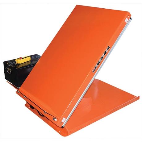 Table élévatrice électrique inclinable 750 kg
