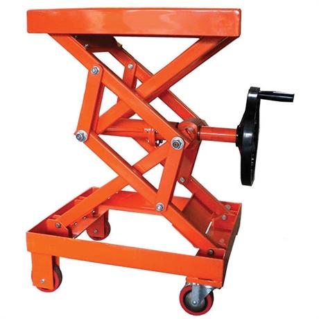 Table élévatrice manuelle à manivelle 100 et 250 kg