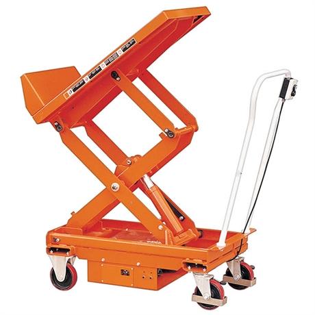 Table élévatrice électrique inclinable 400 et 800 kg
