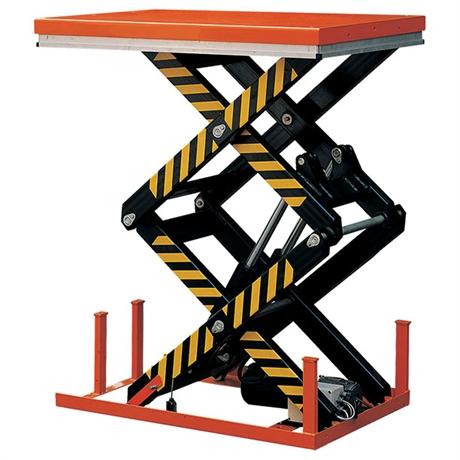 Table élévatrice électrique double ciseaux 1000 à 4000 kg