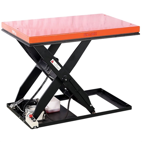 Table élévatrice électrique économique 1000 et 2000 kg