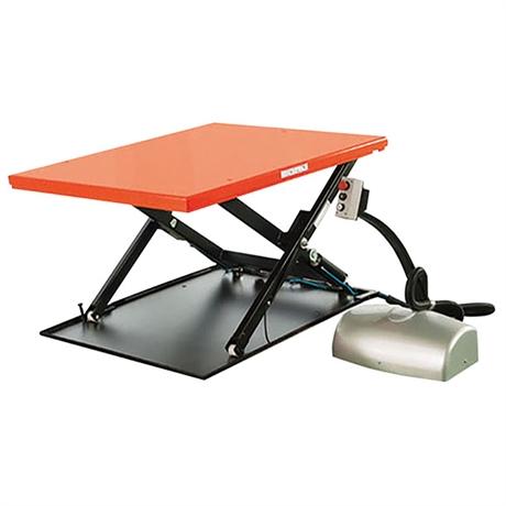Table élévatrice électrique extra-plate économique 1000 kg