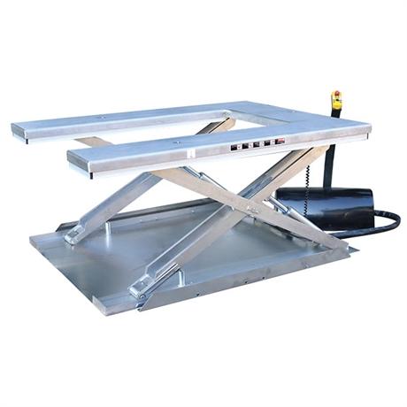 Table élévatrice électrique inox plateau en U 600 kg