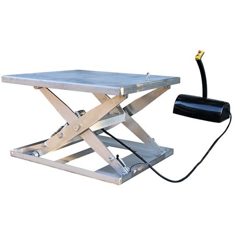 Table élévatrice électrique inox 1800 kg
