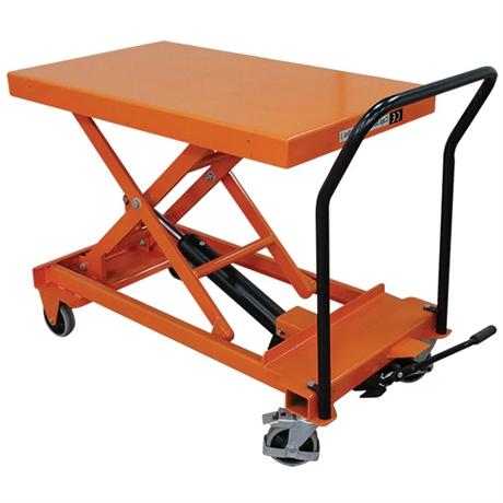 Table élévatrice manuelle surbaissée 300 et 500 kg