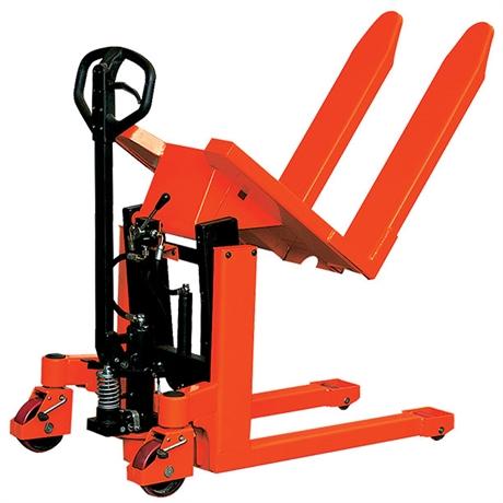 Transpalette basculeur manuel et électrique 1000 kg