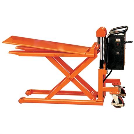 Transpalette haute levée électrique grande stabilité 500 et 1000 kg