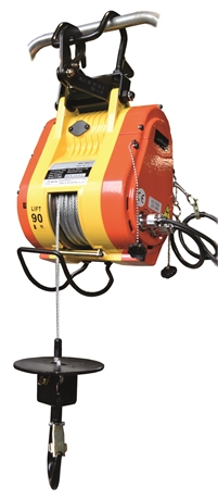 Treuil à câble électrique 250 et 500 kg