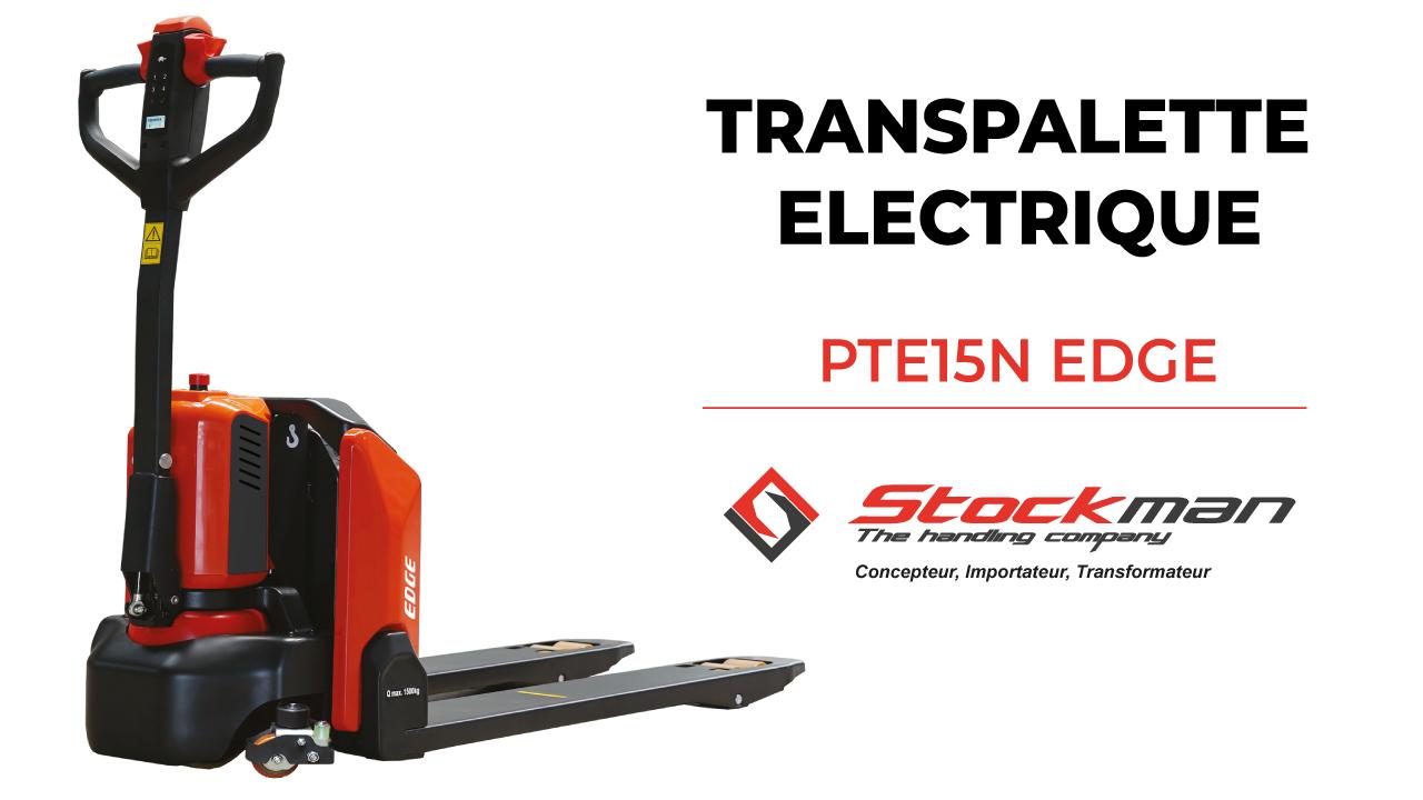 Le transpalette électrique PTE15N EDGE