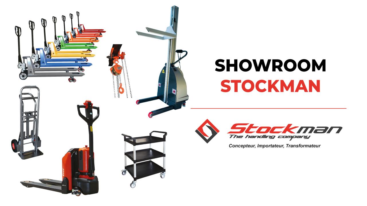 Le showroom STOCKMAN est à votre disposition !