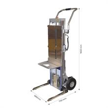 Diable / gerbeur monte-escaliers électrique 170 kg -