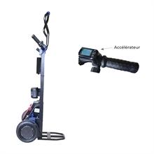 Diable monte-escaliers électrique acier à bras rotatif et déplacement motorisé 130kg -