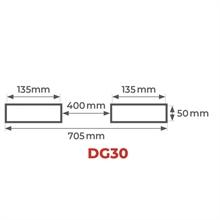Pince porte-fûts 440 kg (ajustable) -