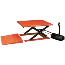Table élévatrice électrique extra-plate 1000 à 2000 kg -