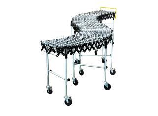 Steel skatewheel conveyor
