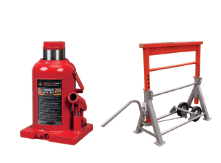 Lifting jacks & Heavy-duty equipment