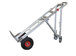 Aluminium and steel sack truck / trolleys
