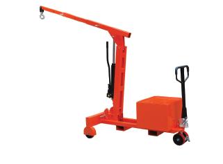Counterbalance shop crane