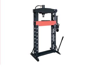 Hydro pneumatic workshop press