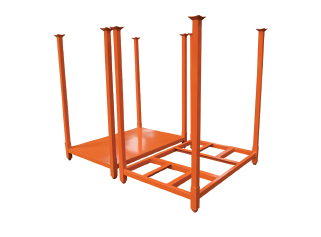 Racks mobiles de stockage empilables