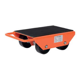Fixed and swivel casters load skates
