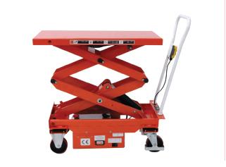 Semi-electric & motorized lift tables