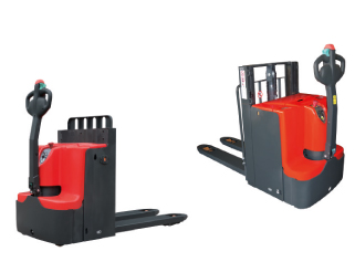 Electric stackers (warehouse equipment)