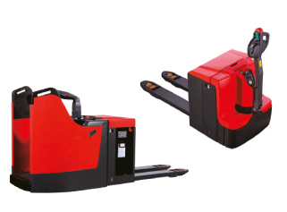 Electric pallet trucks (warehouse equipment)