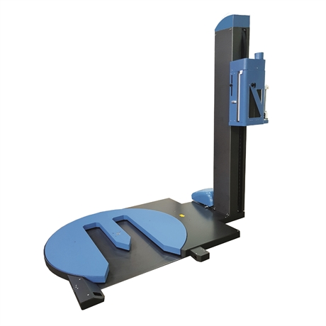 Premium U-platform stretch wrap machine