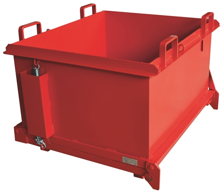 SBFO1100 - Benne à fond ouvrant 1100 litres